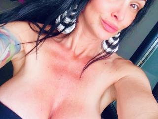Sexet profilfoto af model BrilliantOne, til meget hot live show webcam!