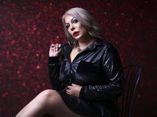 Foto de perfil sexy da modelo SweetHotBlondeB, para um live show muito quente!