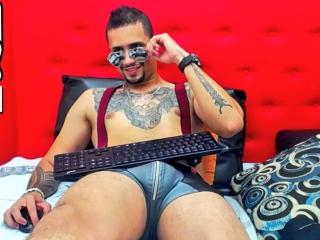 AnubizHot - Live nude with a charcoal hair Horny gay lads