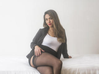 Sexet profilfoto af model LizzBeckett, til meget hot live show webcam!